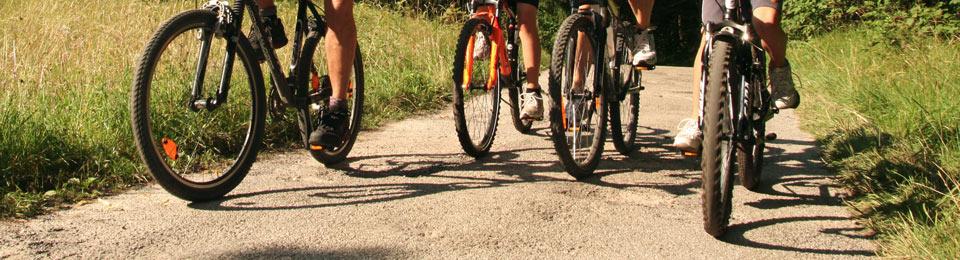 Schöne Radtouren und Radwege laden ein!