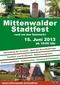 Mittenwalder Stadtfest rund um den Salzmarkt
