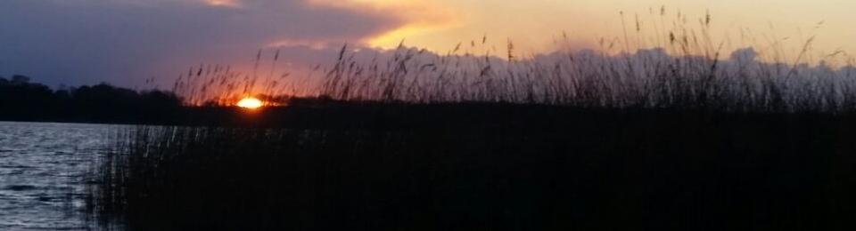 Traumhafte Sonnenuntergänge am Motzener See