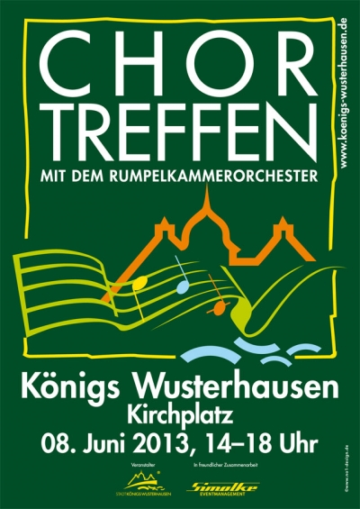 Chortreffen in Königs Wusterhausen